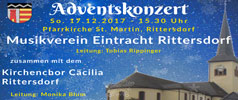 Adventskonzert MV Rittersdorf