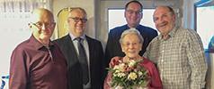 95. Geburtstag von Frau Josefine Feilen