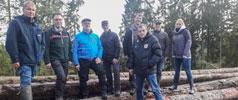 Waldbegang der Ortsgemeinde im Geweberwald