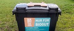 Neue Biogutcontainer in Rittersdorf aufgestellt