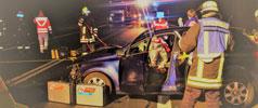 Fahrsicherheitstraining für junge  Rittersdorfer Fahrer
