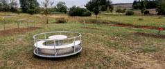 Neuer Spielplatz im Wiesengrund